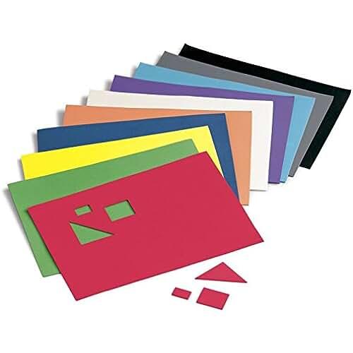 goma eva kawaii Faibo 218768 - Pack de 10 láminas de goma Eva, 20 x 30 cm, multicolor