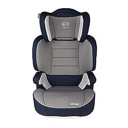 Kinderkraft Spark UP Kinderautositz Kindersitz Autokindersitz 15 bis 36 kg Gruppe 2 3 (Blau)