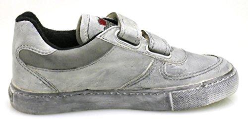 Primigi Sneaker Jungenschuhe Schuhe Jungensneaker Ledersneaker Lederschuhe Grau