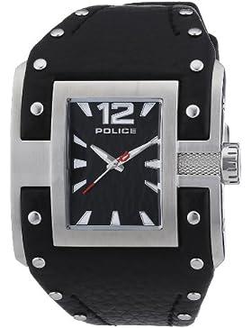POLICE Damen-Armbanduhr AVENGER Analog Quarz Leder P13401JS-02