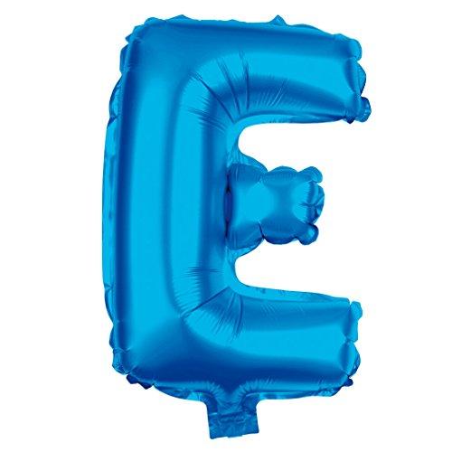 be XXL Blau 80cm Party Helium Luftballons Geburtstag Deko (Blau_E) ()