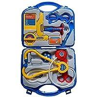 DSR Kids Doctor Set Toy Game Kit for Boys and Girls Collection (Doctor Set - Blue)
