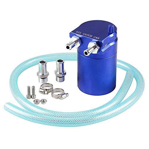 Semoic Serbatoio di Latta per Olio in Alluminio Universale deflettore - Blu