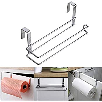 Eoan Stainless Steel over Door Cabinet Holder for Kitchen (Standard Size)