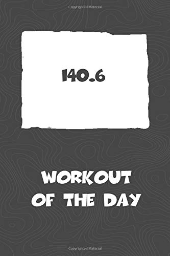 Workout of the Day: Colorado Workout of the Day Log for tracking and monitoring your training and progress towards your fitness goals. A great ... bikers  will love this way to track goals! por KwG Creates