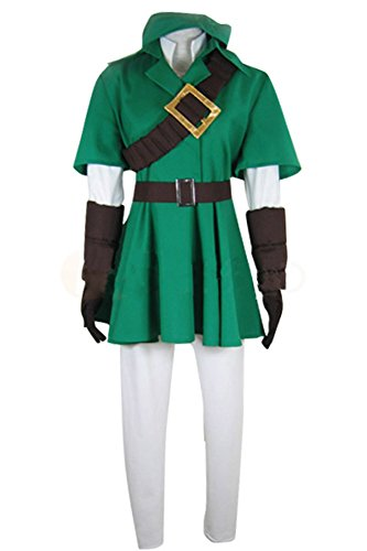Fuman The Legend of Zelda Link Cosplay Kostüm XL (Legend Of Zelda Kostüm Cosplay)