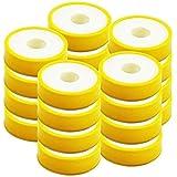 RENVOX Teflon Tape for Plumbing and Water Leak Pack of 20