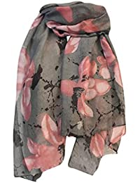 d756404b271 HUHU833 Écharpe foulard châle Femmes mode impression longue écharpe châle  Automne Hiver