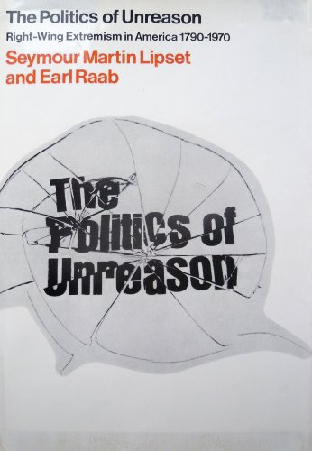 Politics of Unreason: Right Wing Extremism in America, 1790-1969