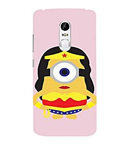 EPICCASE Minion Queen Mobile Back Case Cover For Lenovo Vibe X3 (Designer Case)