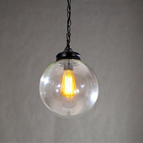 In ottone antico lampadario,luci a soffitto per soggiorno lampadario,sfera lampadario in vetro lampadario vintage lampadario in vetro di personalità creativa semplice home corridoio lampadario