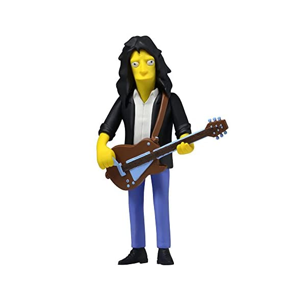 NECA Simpsons 25th Anniversary Series 4 Joe Perry 5 (Aerosmith) Celebrity Action Figure by NECA 1