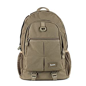 41OIvTEZDHL. SS300  - Backpack LIGHTING Lightweight hiking outdoor waterproof bag-Khaki 30L