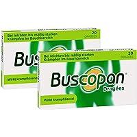 Sparset Buscopan 2 x 20 Dragees preisvergleich bei billige-tabletten.eu