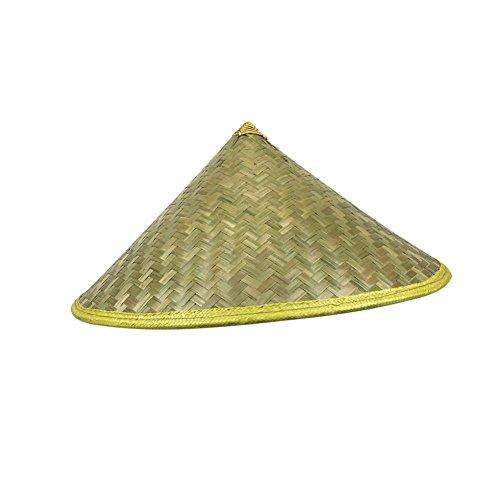 Rose-Summer Sombrero de bambú con diseño de Fresa Oriental China