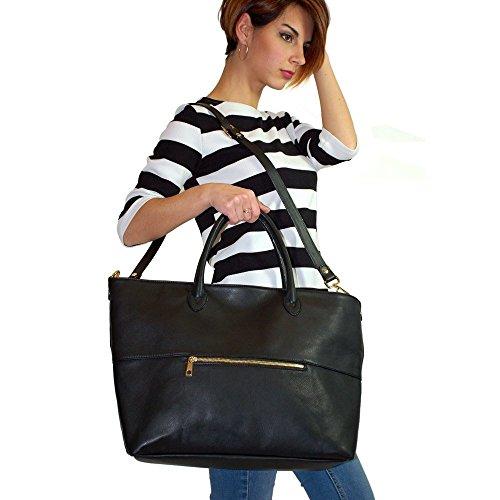 cuero-negro-bolso-grande-de-piel-bolso
