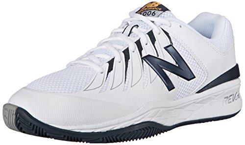 New Balance Men's MC1006V1 Tennis Shoe Black/White