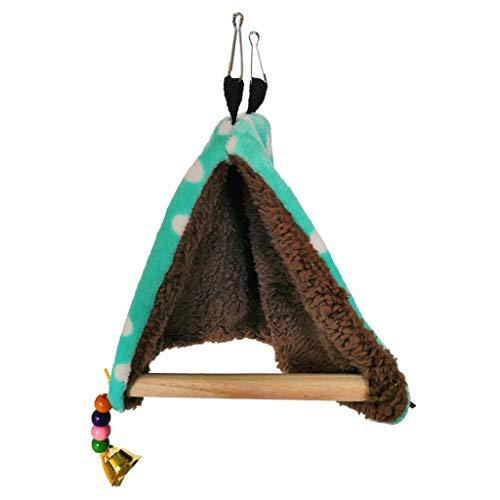 Eliky Warm Bird Nest Bett Hängematte Haus Barsch für Papagei Sittich Finch Canary Cage Toy -