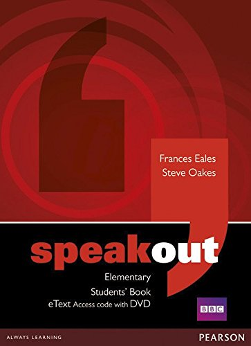 Speakout Elementary Students' Book eText Access Card with DVD