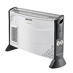 Idea Regalo - Imetec Eco Rapid TH1-100 Stufa Elettrica 2000 W con Tecnologia a Basso Consumo Energetico, Termoconvettore 4 Temperature, Termostato Ambiente, Silenzioso