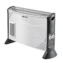 Imetec termoconvettore 4006 ventilato 2000watt, 4 velocita', ventilat