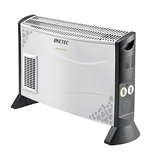 Imetec Eco Rapid TH1-100, termoconvettore da 2000 W con 4 temperature