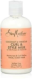 Shea Moisture Curl & Style Milk Lait pour les Cheveux 237 ml