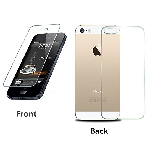 Apple iPhone 4/4S Front and Back Premium Quality Tempered Glass  available at amazon for Rs.147