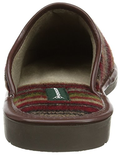 Dunlop Aloys, Chaussons Homme Rouge (Wine)