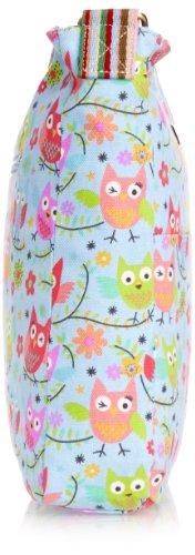 SwankySwans  Millie Winking Owl Crossbody Bag BL,  Mädchen Geldbörsen Blau