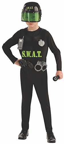Rubies Costume Co R882086-S S.W.A.T. Team-Kind SMALL (Swat Team Kostüm Zubehör)