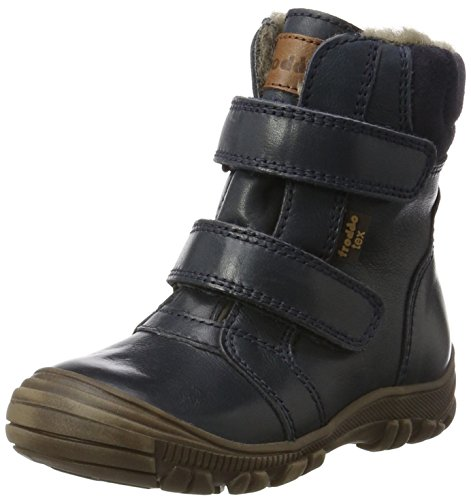 Froddo Unisex-Kinder Boot G3110092 Schneestiefel, Blau (Dark Blue I17), 40 EU (Gefüttert Kinder Stiefel Wolle)