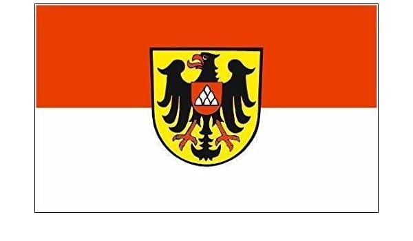 Aufkleber Gelsenkirchen Flagge Fahne 12 x 8 cm Autoaufkleber Sticker