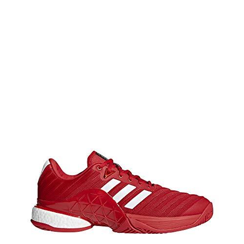 lower price with 010a1 ab104 Adidas Barricade 2018 Boost, Zapatillas de Tenis para Hombre, Rojo  (Ftwbla Escarl