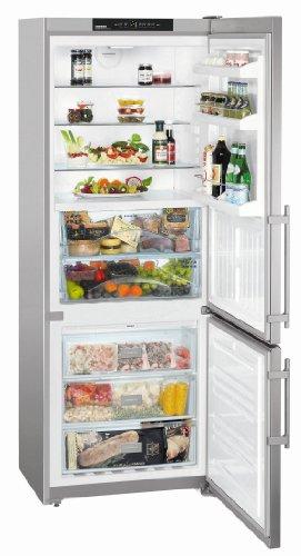 Liebherr cbnesf 5133Comfort Biofresh NoFrost autonome 421L Blechschere A + + Silber-réfrigérateurs-congélateurs (421L, sn-t, 14kg/24h, A + +, neue Zone Bucket, silber)