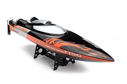 PREMIUM Super schnelles RC Motorboot Speedboot ferngesteuert (bis zu 35 km/h) + (Halloween Kran Kostüm Spiel)