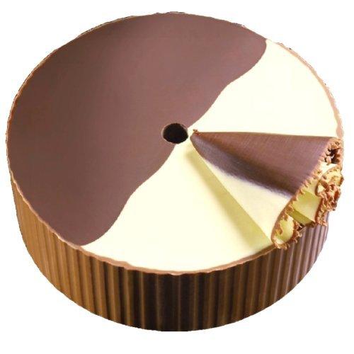 500g CHOCO ROULETTE DUNKEL / WEISS (Choc o Rolles, Choco Rolles) / FÜR GIROLLE / KÄSEHOBEL / GESCHENKVERPACKUNG (Käse Baum)