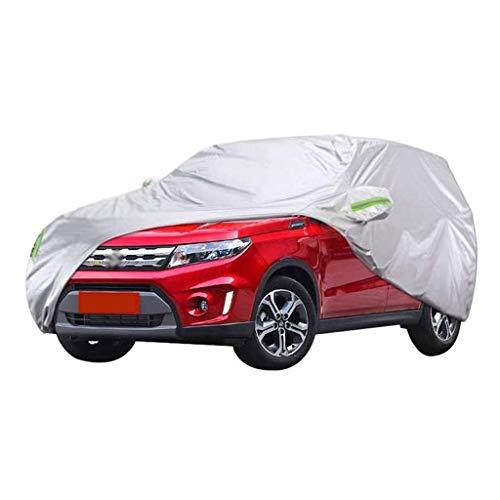 POLKMN Autoabdeckung SUV-Abdeckung Wasserdichte Schneedecke Schutz vor Staub und UV-Schutz im Freien (größe : 2018) (Auto-alarm Für Cabrio)