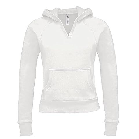 B&C Collection - Sweat-shirt - Moderne - Femme - blanc - X-Large