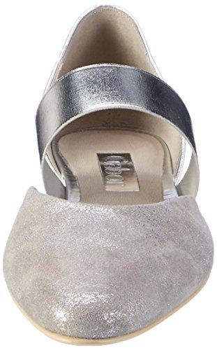 Gabor Shoes Fashion, Scarpe con Tacco Donna Grigio (grau/silber 69)