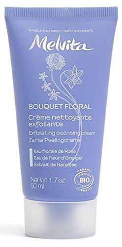 Melvita Bouquet Floral Crème Nettoyante Exfoliante 50 ml
