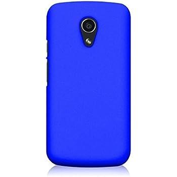 WOW Imagine Matte Hard Case Back Cover For Motorola Moto G 2nd Gen (Uber Blue)