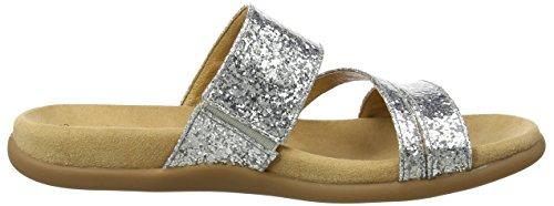 Gabor Damen Fashion Sandalen Silber (silber 71) 1Ysnfh