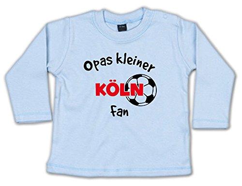 Opas Kleiner Köln Fan Baby Sweatshirt 268.0281 (3-6 Monate, blau)