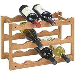 Wenko 18615100 Etagère à Vins Norway Dimensions 42 x 28 x 21 cm