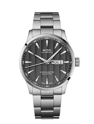 Mido M038.431.11.061.00 Montre analogique pour Homme avec Bracelet en Acier Inoxydable