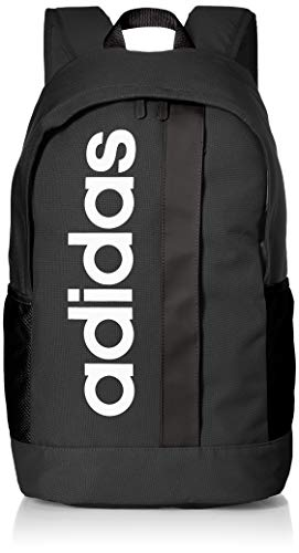 Adidas Lin Core BP Sports Backpack, Unisex Adulto, Black/Black/White, NS