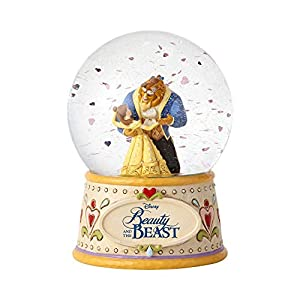 Disney Traditions 'Beauty & the Beast' Schneekugel Jim Shore Figur 4059189