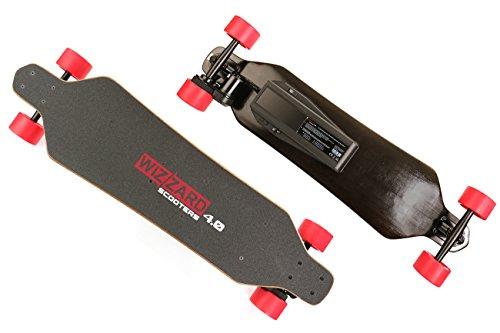 WIZZARD 4.0 Longboard Skateboard Elektro Skateboard Elektro Longboard, 35km Reichweite 30km/h by Monowheel -
