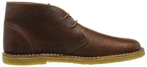 Pretty Green Herren Mens Leather Desert Boot Braun (Tan)
